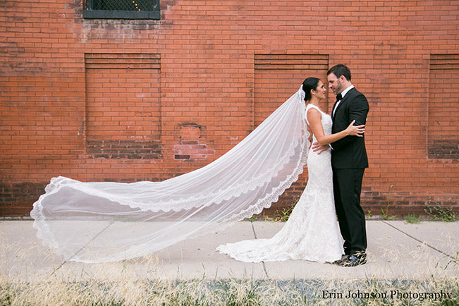Bride-and-floating-veil