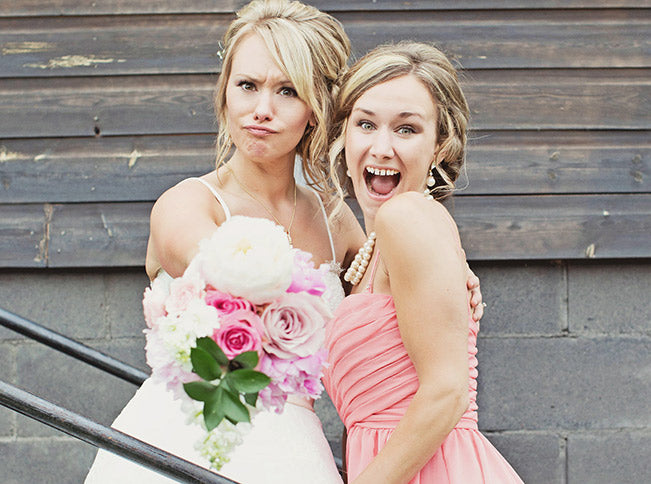 bride-and-MOH-funny-faces