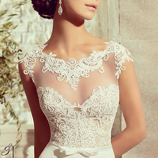 Mori Lee Lace Gown