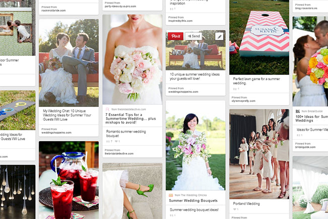 Wedding Shoppe Pinterest small