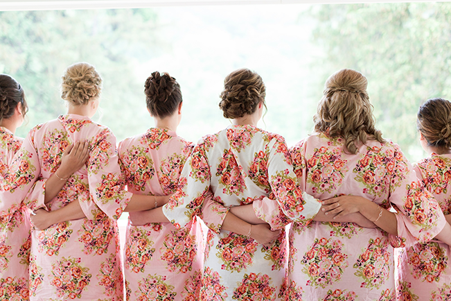 bridal-party-in-floral-robes