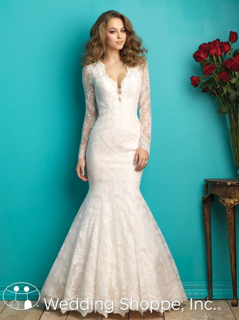 Allure Lace Fit and Flare 9260