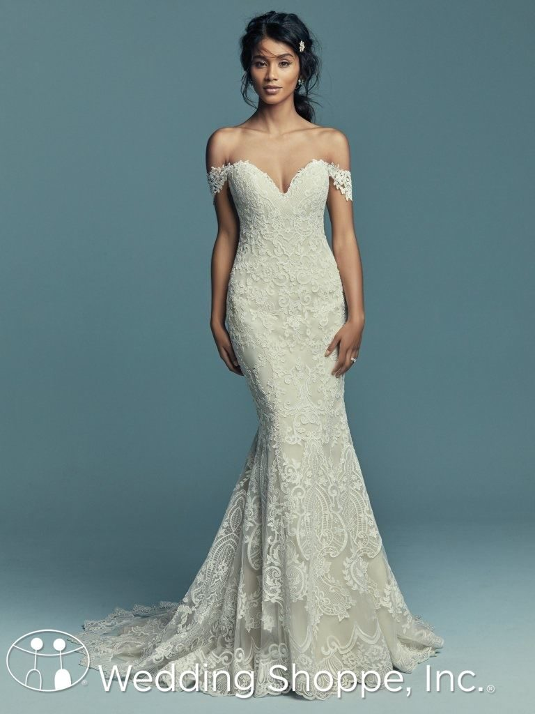 Off-The-Shoulder Straps Maggie Sottero Stephanie