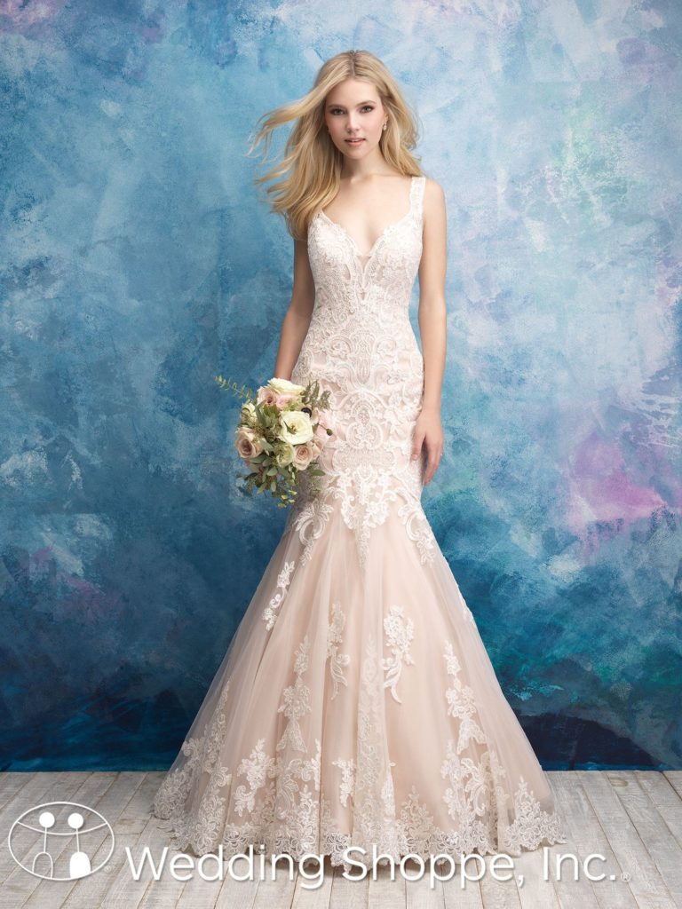 Allure Lace Fit And Flare 9562