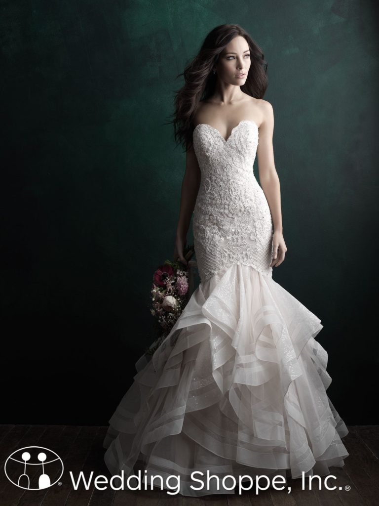 Allure Couture Fit and Flare Bridal Gown