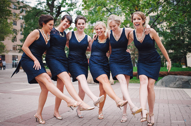 bridesmaids-dancing-in-navy-lace-kennedy-blue
