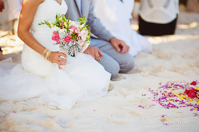 Bride-and-Groom-in-Sand