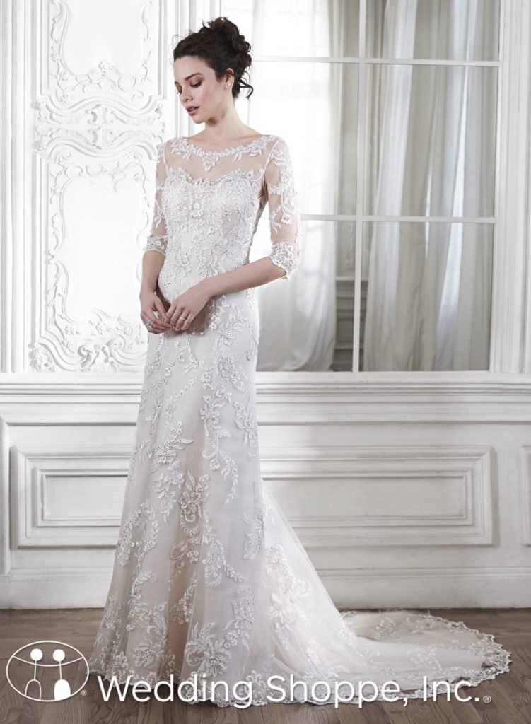Modest Wedding Dresses That Aren T Boring Wedding Shoppe