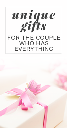 unique wedding gifts for the couple who has everything