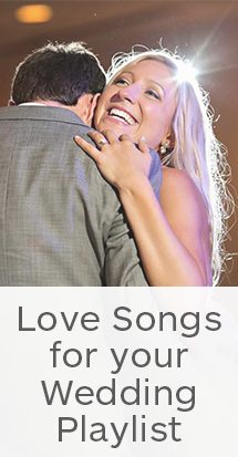 love songs for your wedding playlist