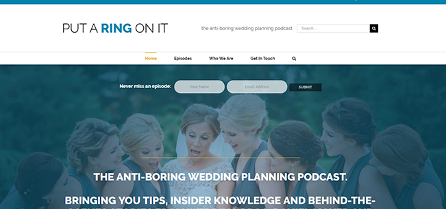 Put a Ring On It Wedding Podcast
