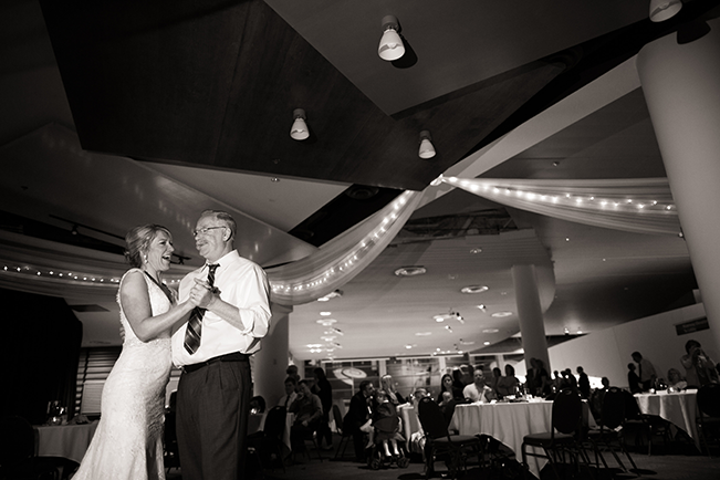 father and daughter wedding dance