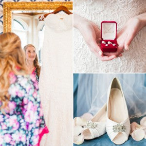 Real Wedding Inspiration: Anna + Ben's Romantic Wedding at a Castle | The Wedding Shoppe | Rene Tate Photography
