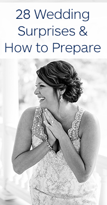 Wedding Surprises and How to Prepare | The Wedding Shoppe Inc.