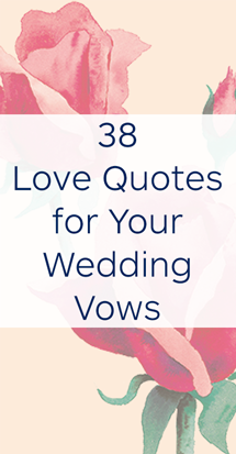 Love Quotes for Wedding Vows | The Wedding Shoppe Inc.