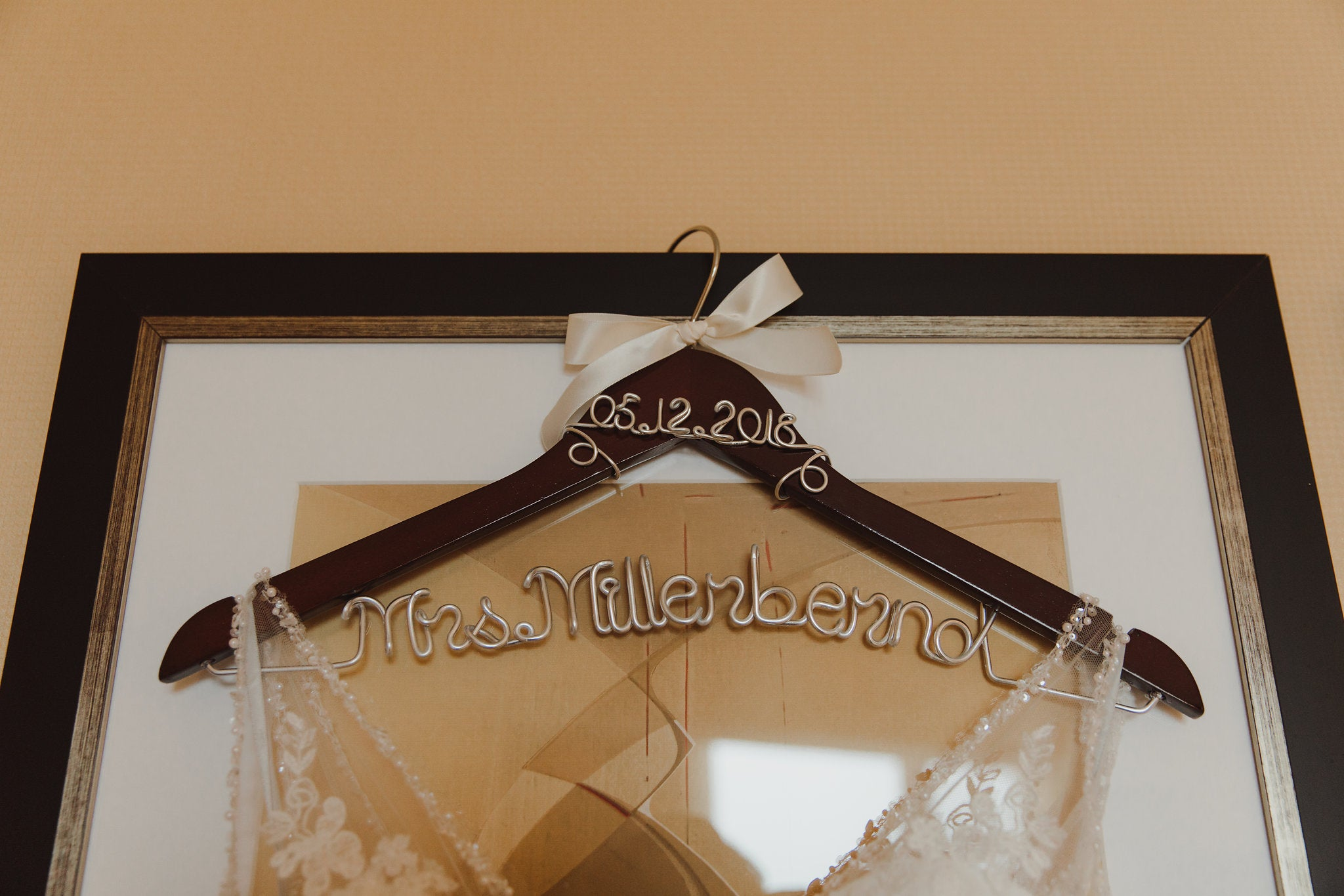 Mrs. bridal hanger