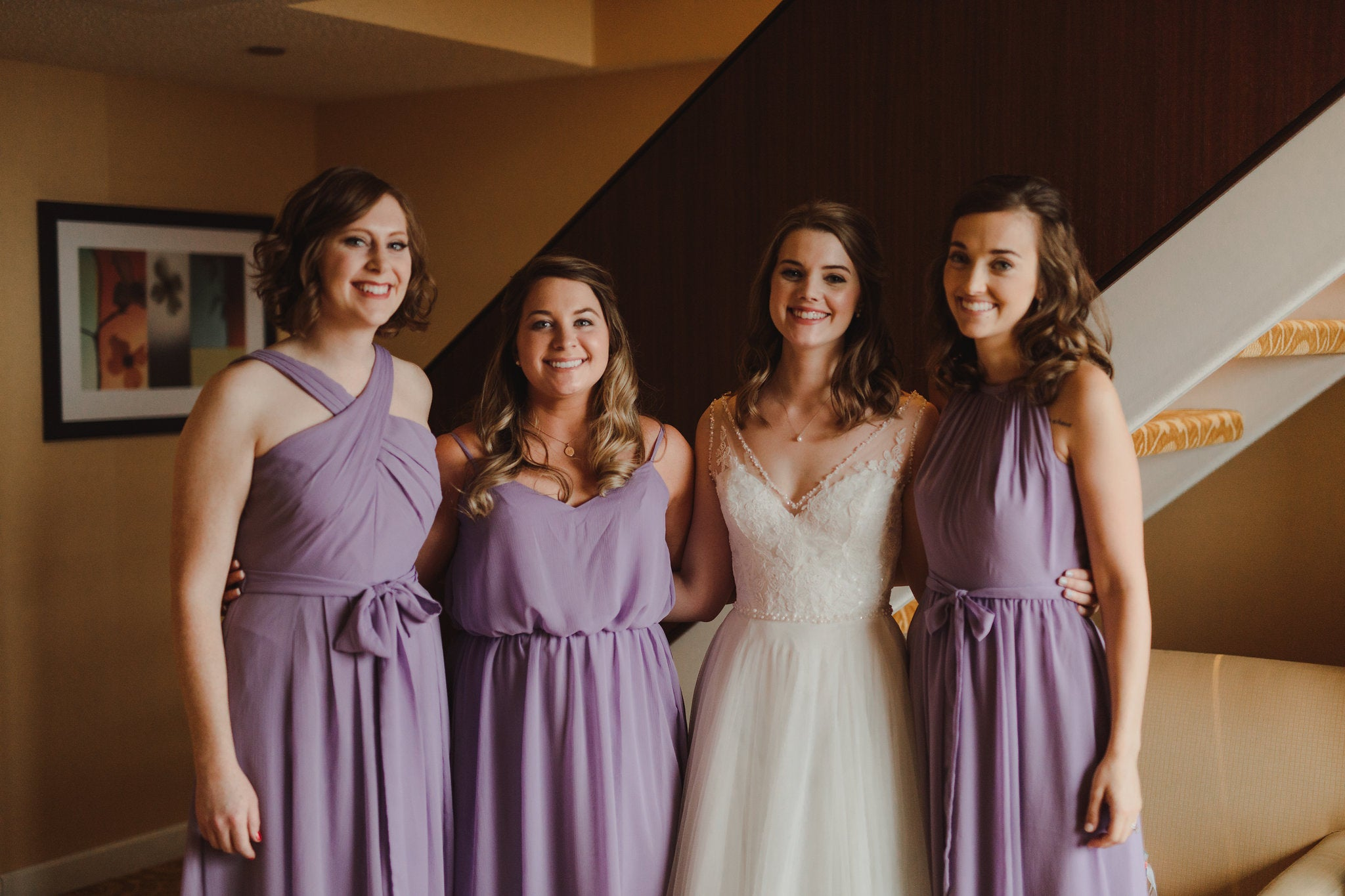Violet Kennedy Blue bridesmaids