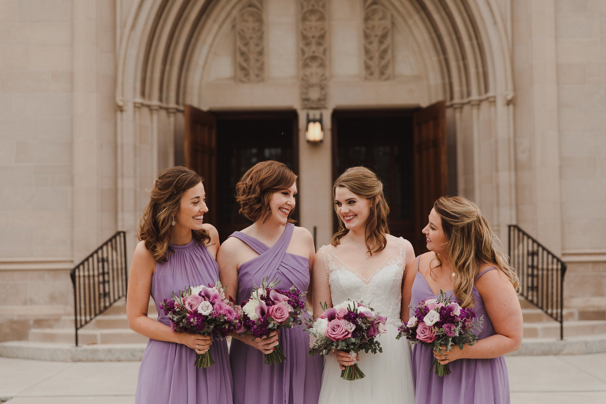 Violet Kennedy Blue bridesmaid dresses