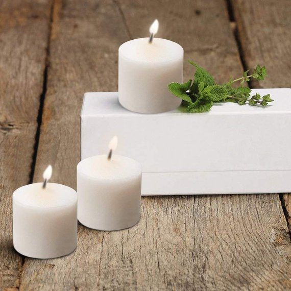 votive candles Etsy | 13 budget-friendly wedding decorations