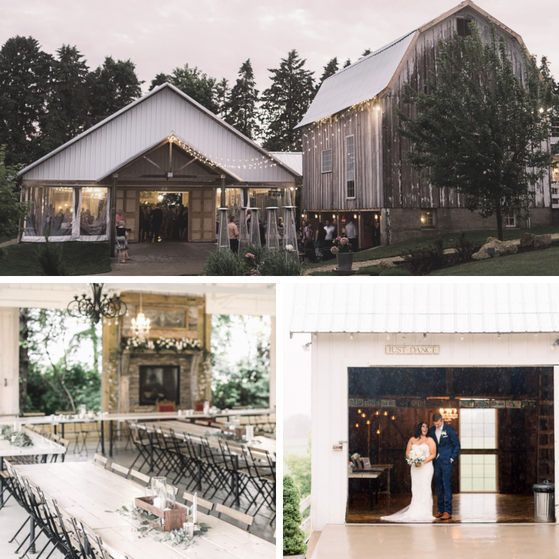 legacy hill farms | The Best Minnesota Wedding Venues