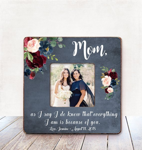 picture frame for mother of the bride | the search for mother of the bride gifts made easy