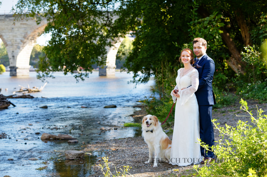 dog in your wedding