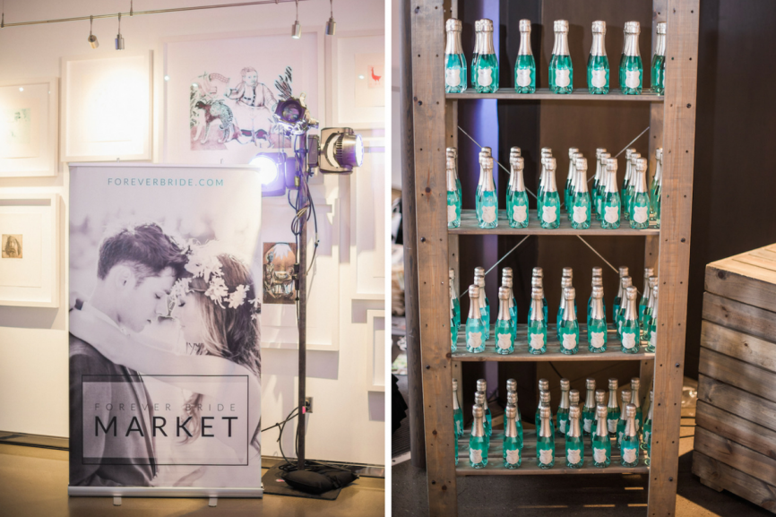 bottles on a shelf | The Forever Bride Market