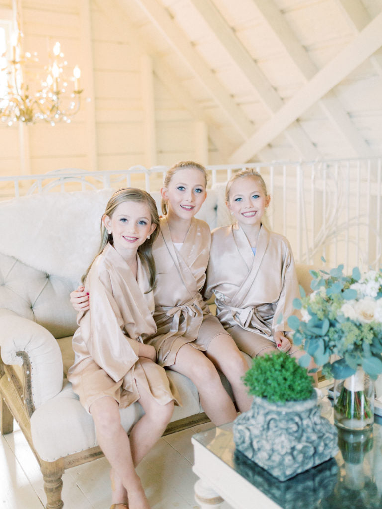 junior bridesmaids | Should I Have Kids at My Wedding?