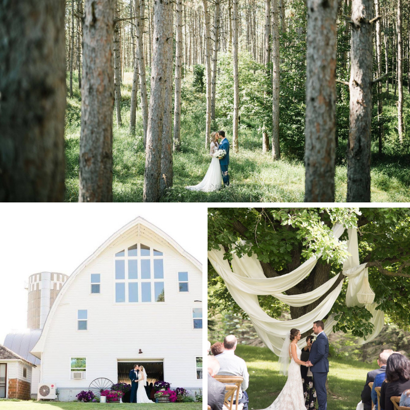 Barn at Five Lakes Resort | The Best Minnesota Wedding Venues