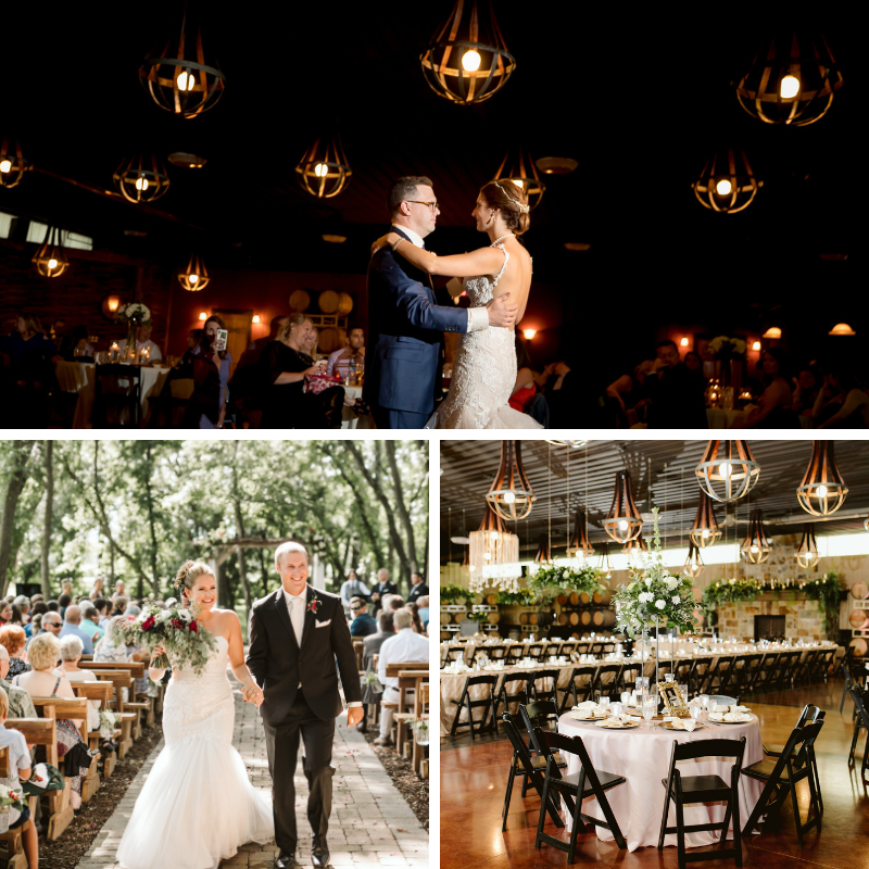 Carlos Creek Winery | The Best Minnesota Wedding Venues
