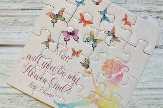 flower girl proposal puzzle | how to Nail the Perfect Flower Girl Proposal