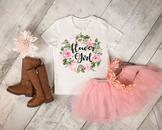 flower girl outfit | How to Nail the Perfect Flower Girl Proposal