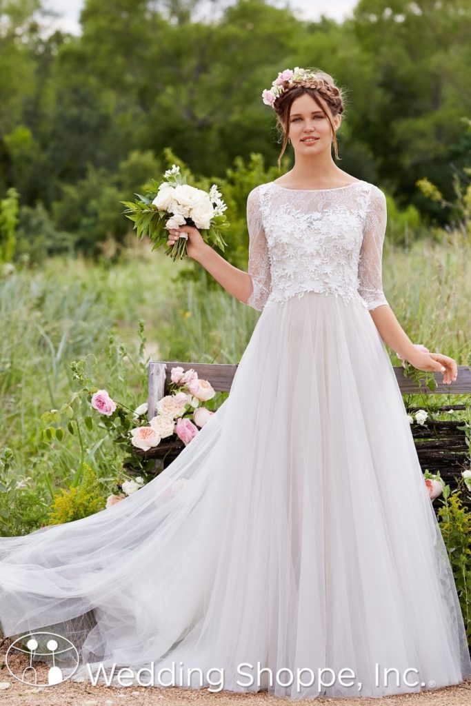 gold wedding gowns willowby by Watters