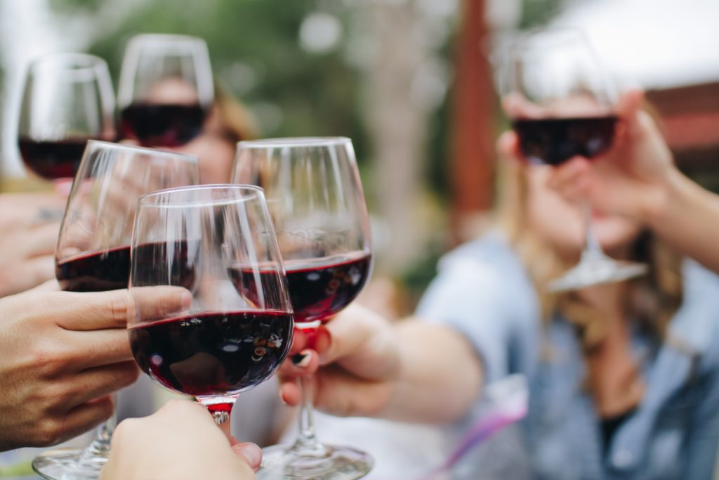 wine toast | The Best Bachelorette Party Ideas for Minnesota