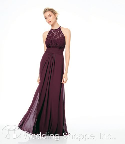 lace bridesmaid dress | Bill Levkoff bridesmaid dresses