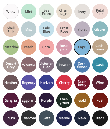 Bill Levkoff bridesmaid dresses color chart | Bill Levkoff Bridesmaid Dresses