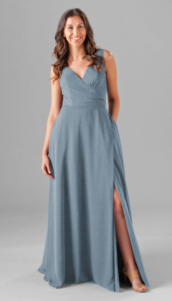Kennedy Blue bridesmaid dresses pearl