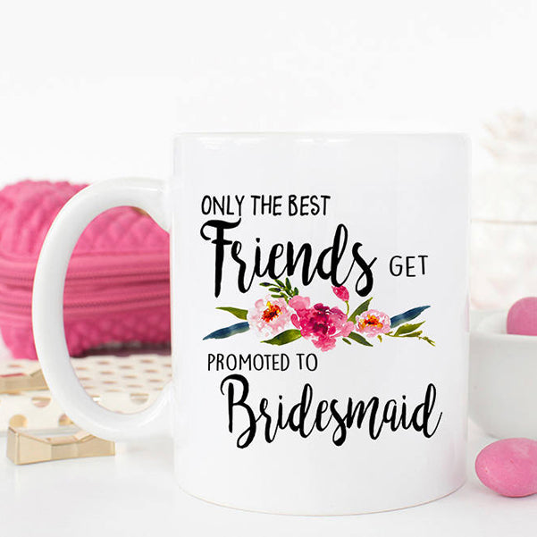 Coffee Mugs Bridesmaid Proposal Gift