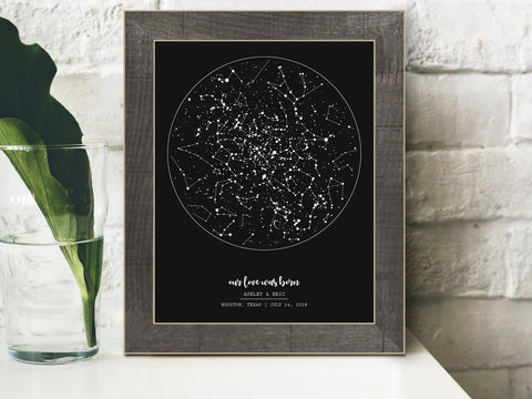 Constellation Wedding Night