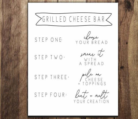 Grilled Cheese Bar