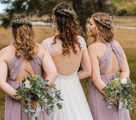 Junior Bridesmaids with Bride