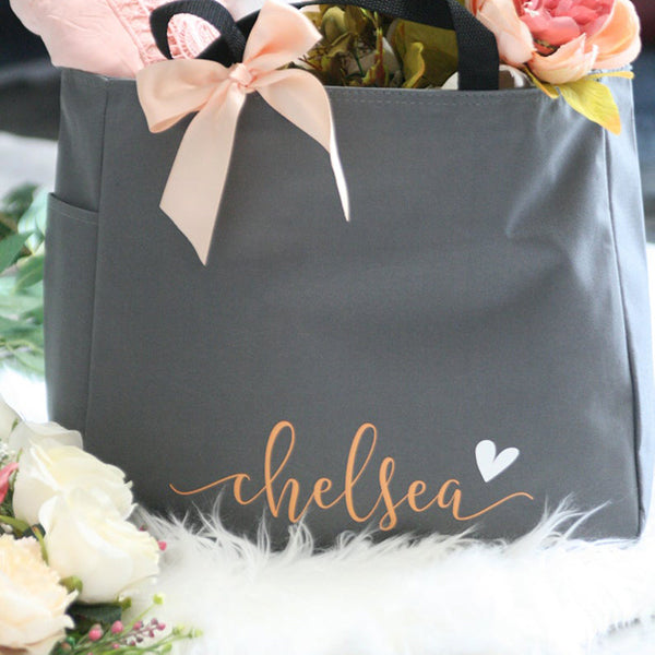 Personalized Tote Bag Bridesmaid Proposal Gift