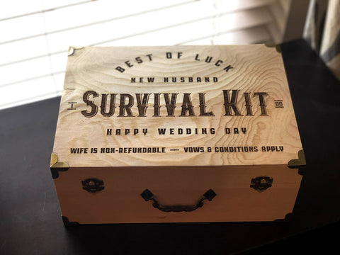 Groom Wedding Survival Kit