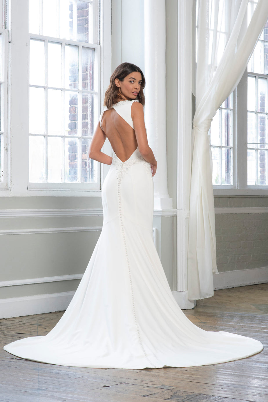 Theia Bridal Bridal Gown Theia Bridal Adrienne Wedding Shoppe