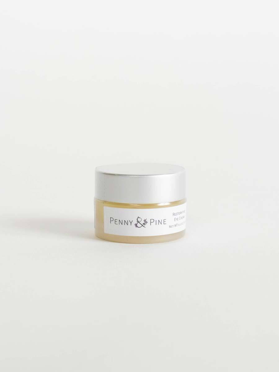 Restorative Eye Cream Side | Penny & Pine Skincare