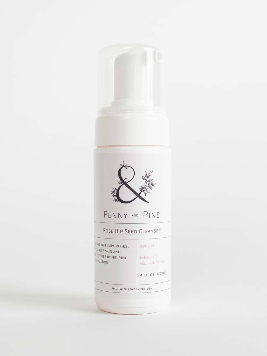 Rose Hip Seed Cleanser | Penny & Pine Skincare
