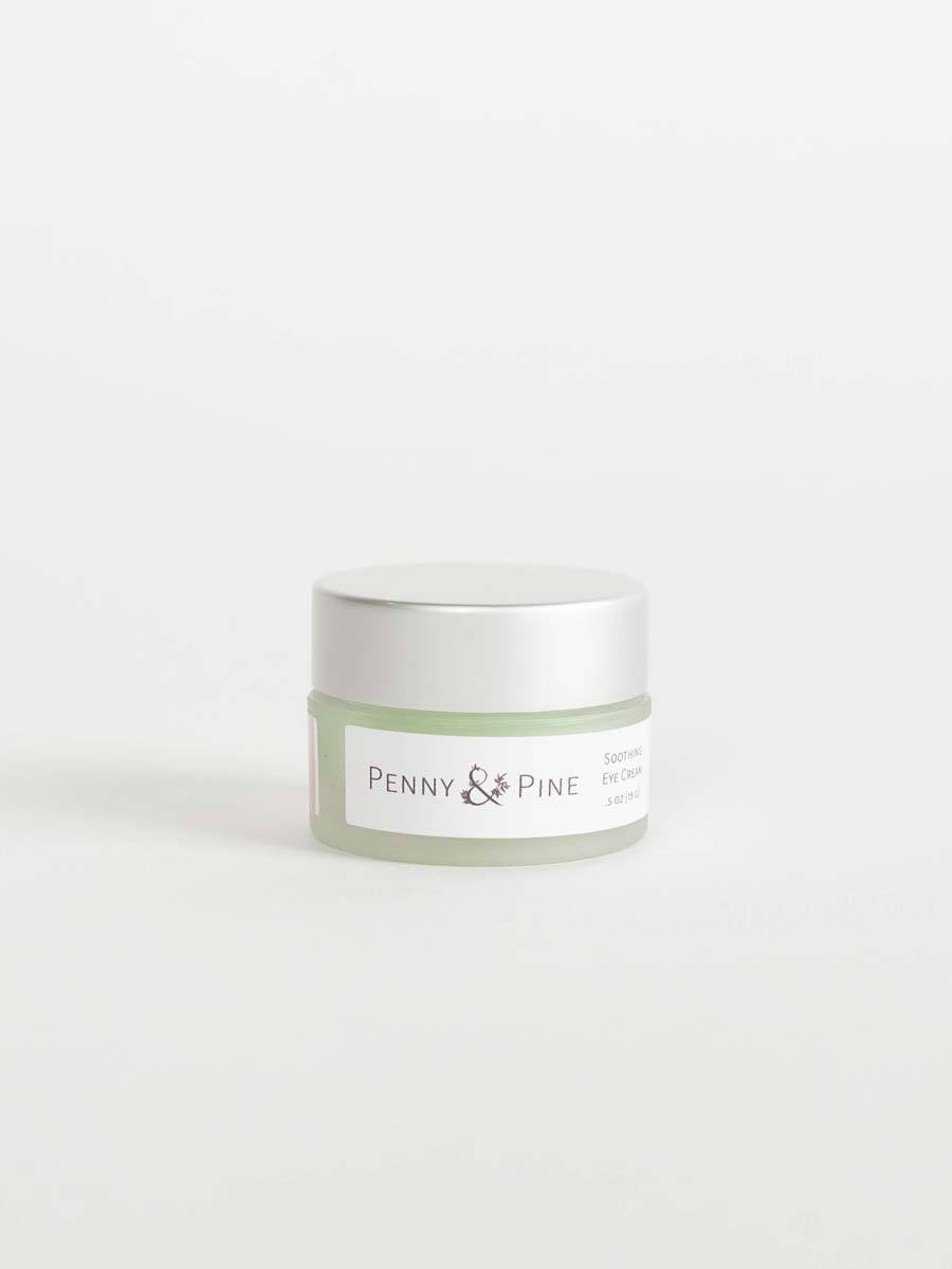 Soothing Eye Cream Side | Penny & Pine Skincare