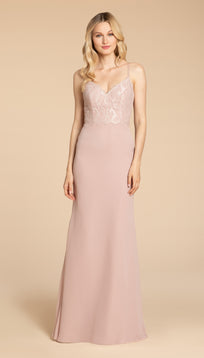 |Hayley Paige 5957 Bridesmaid Dress