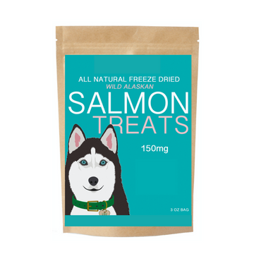 Freeze Dried Salmon Treats For Dogs