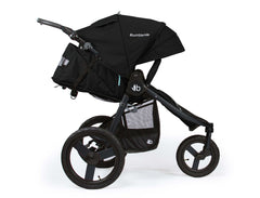 Bumbleride Speed Jogging Stroller Matte Black Profile View